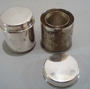 Rockford Silver Co Candle set.