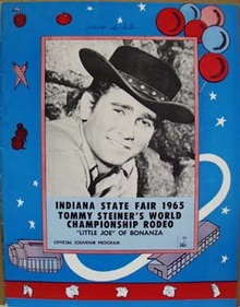 Ind. State Fair Michael Landon Program 1965