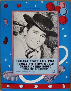 Ind. State Fair Michael Landon Program 1965