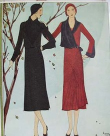 Fashion Ad Costume Ad 1930