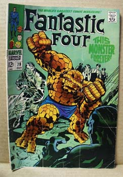 Fantastic four, Oct 79, 12 cent Marvel