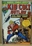 Kid colt Outlaw Nov 200, Marvel comic book