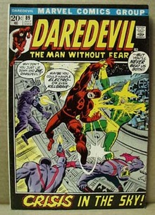 Daredevil July 89 marvel comic, 1972