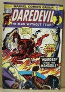 Daredevil Aug 112 marvel comic, , 1974,