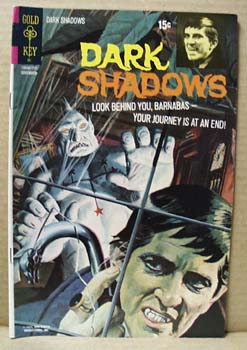 Dark Shadows 1971 Comic book