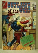 Charlton Comics Outlaws of the West,