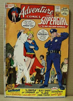 DC Supergirl Comic, Vol 38, # 419 May 1972,