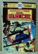DC comic SGT Rock, Our Army at War Vol 24,