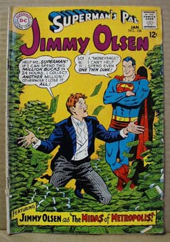 DC Comic Jimmy Olsen, Jan 108.
