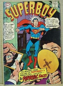 DC Comic Superboy, March no 145