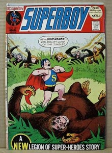 DC Comic Superboy, March 183