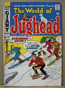 Archie Series Comic Jughead, Giant #172, 1970