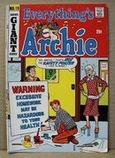 Archie Series Comic Everythings Archie Giant Series 19, 1972.