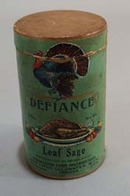 Defiance Leaf Sage Paper Box container
