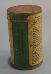 Defiance Leaf Sage Paper Box container