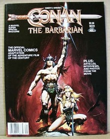 1982 Conan the Barbarian Magazine,