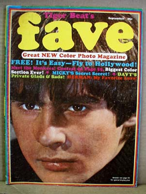 Tiger Beat's Fave September 1967, Vol 1, no 1