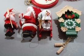 Misc Christmas ornaments/crafts.