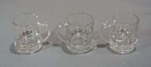 Set of 3 Federal mug shot glasses