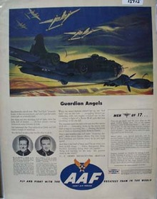 Army Air Forces Guardian Angels Ad 1944