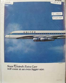 United's Extra Care Ad 1967