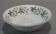 Grindley Arcadia Cereal Bowl is Satin White
