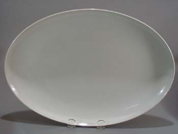 Franciscan Cloud Nine Platter is simply pure white