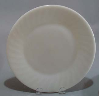 Fire King Ivory Swirl Salad Plate