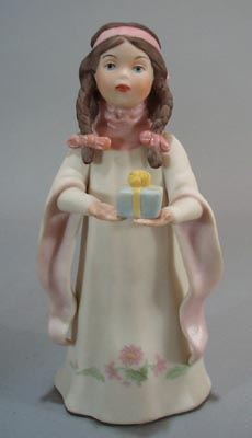 Goebel the Precious gift figurine showing a girl