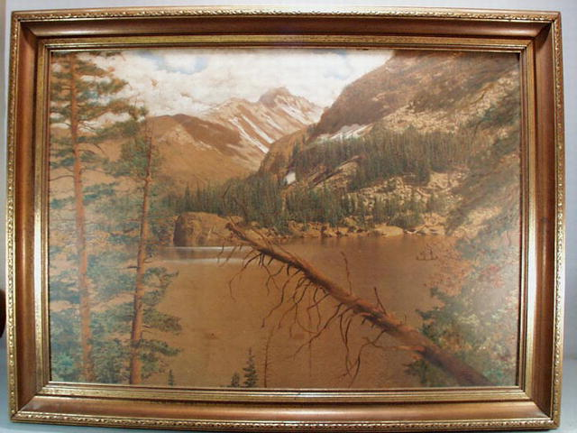 Largest tinted photo of Rocky Mountains.
