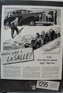 LaSalle Has Every Fine Feature Ad 1938