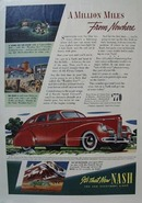 Nash Million Miles from Nowhere Ad 1939