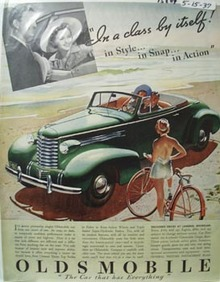 Oldsmobile Class by Itself Ad 1937