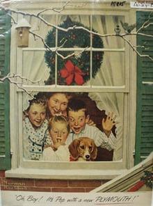 Plymouth Christmas Ad 1951