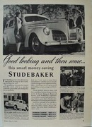 Studebaker Good Looking Then Some Ad 1939
