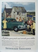 Studebaker Flatters Your Pride Ad 1939