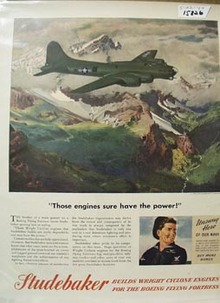 Studebaker Engines Have the Power Ad 1944