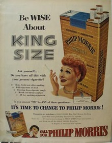 Philip Morris Be Wise Ad 1953