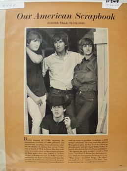 Beatles Article with Pictures 1964