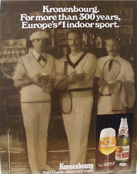 Kronenbourg Beer More than 300 Years Ad 1987