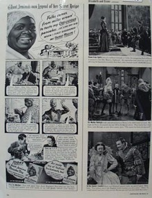 Aunt Jemima Own Legend of Secret Recipe Ad 1939