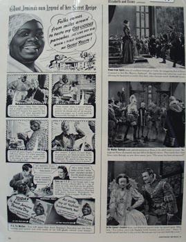Aunt Jemima Own Legend of Secret Recipe Ad 1939