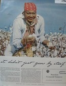 American Cotton picking  Grow By Itself Ad 1941