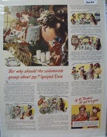 Borden's Gossip Ad 1948