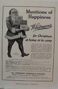 Whitman's Christmas Ad 1917