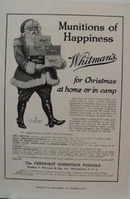 Whitman's Christmas Ad 1917