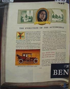 Bendix Aviation Evolution of Auto Ad 1934