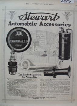 Stewart Auto Accessories Ad 1918