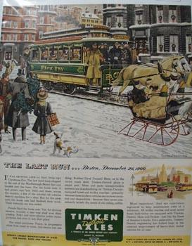 Timken Axle The Last Run Ad 1951