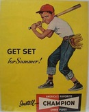 Champion Spark Club For Summer Ad 1952